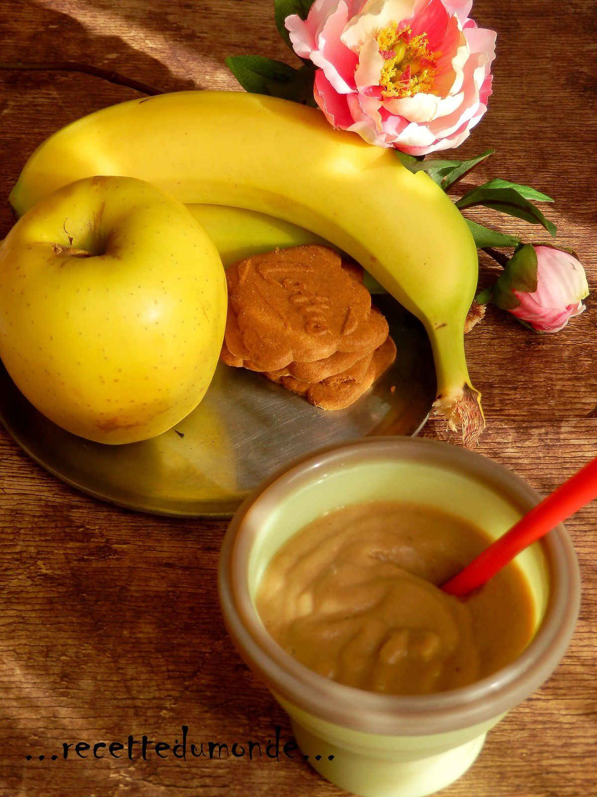 Compote pomme banane Speculoos - 18 mois