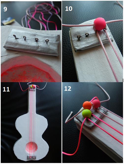 Fabriquer une guitare en carton - tuto inside