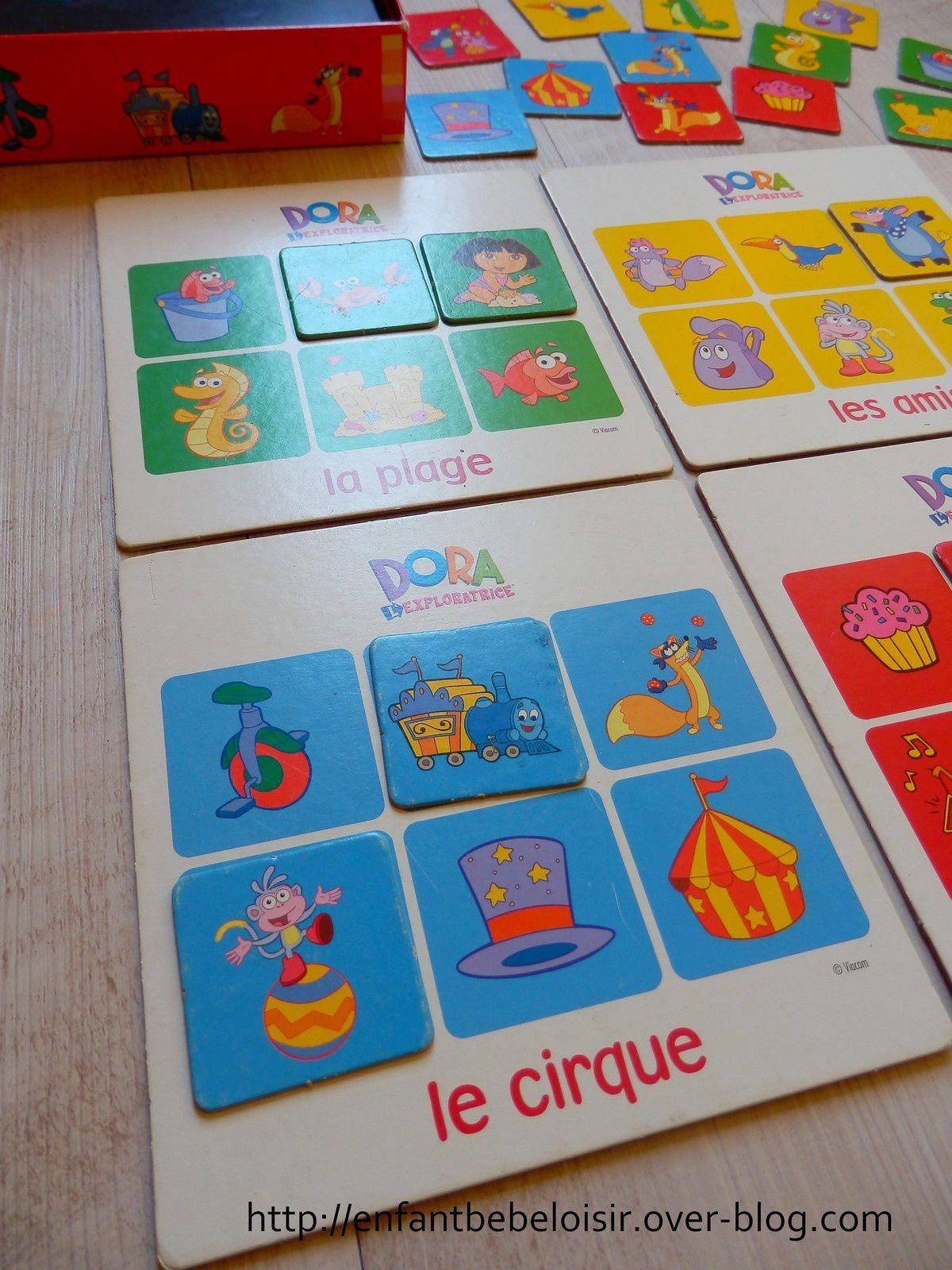 Jeux de loto apprentissage des couleurs - DORA