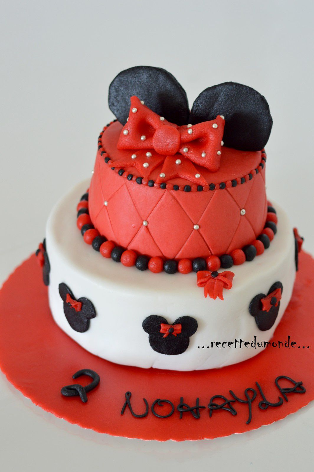 Gateau Anniversaire 1 An Fille Minnie