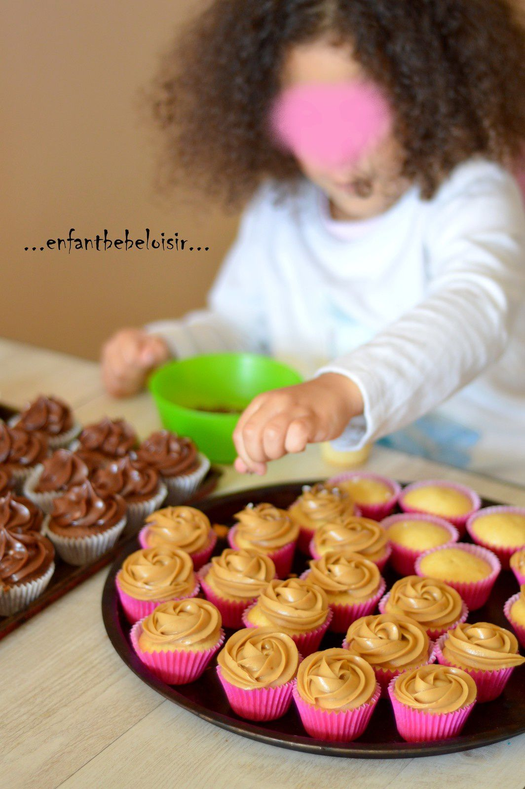 Atelier Cup cake Nut Speculoos en images