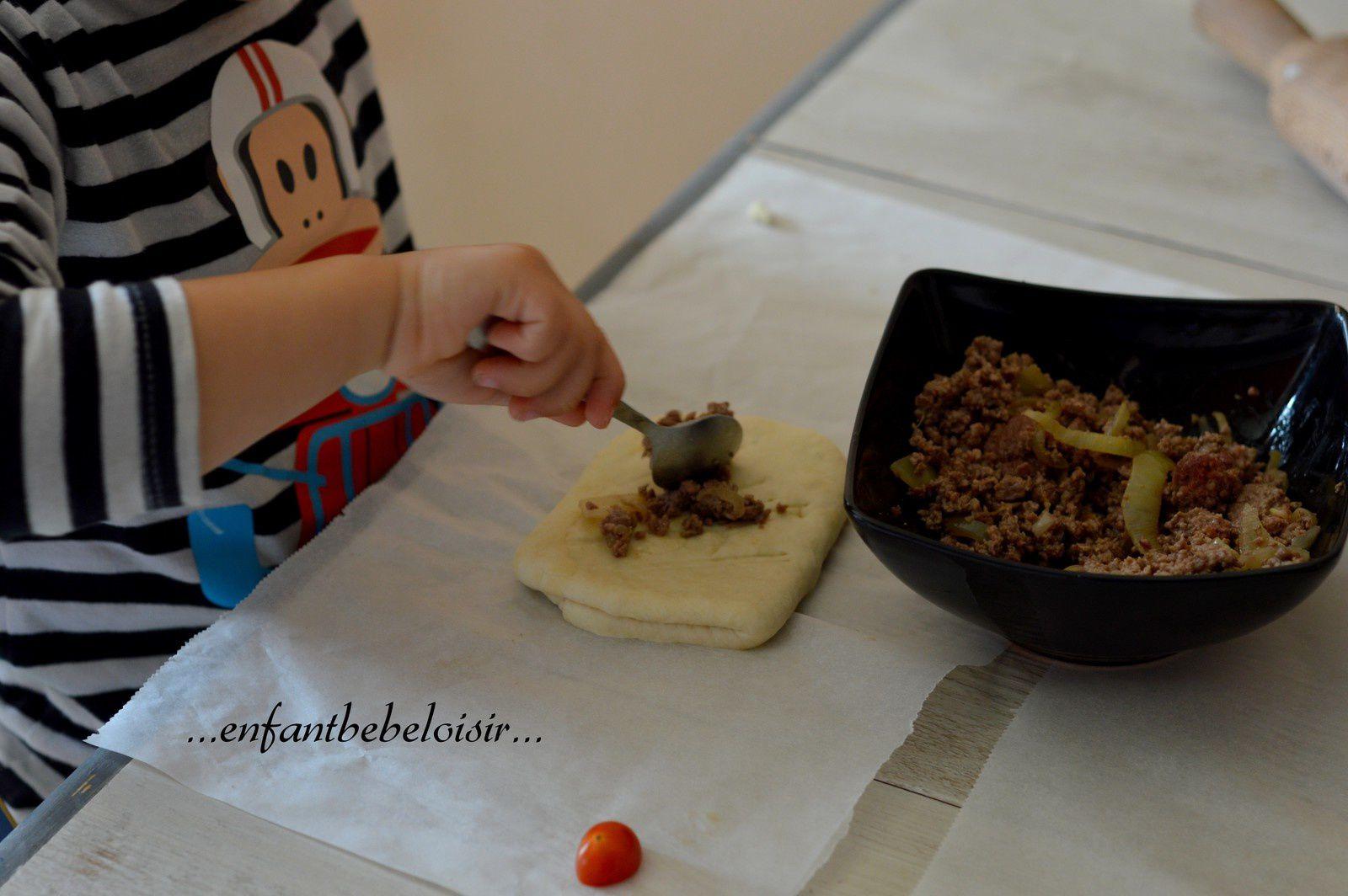 Je cuisine - Une fougasse en images