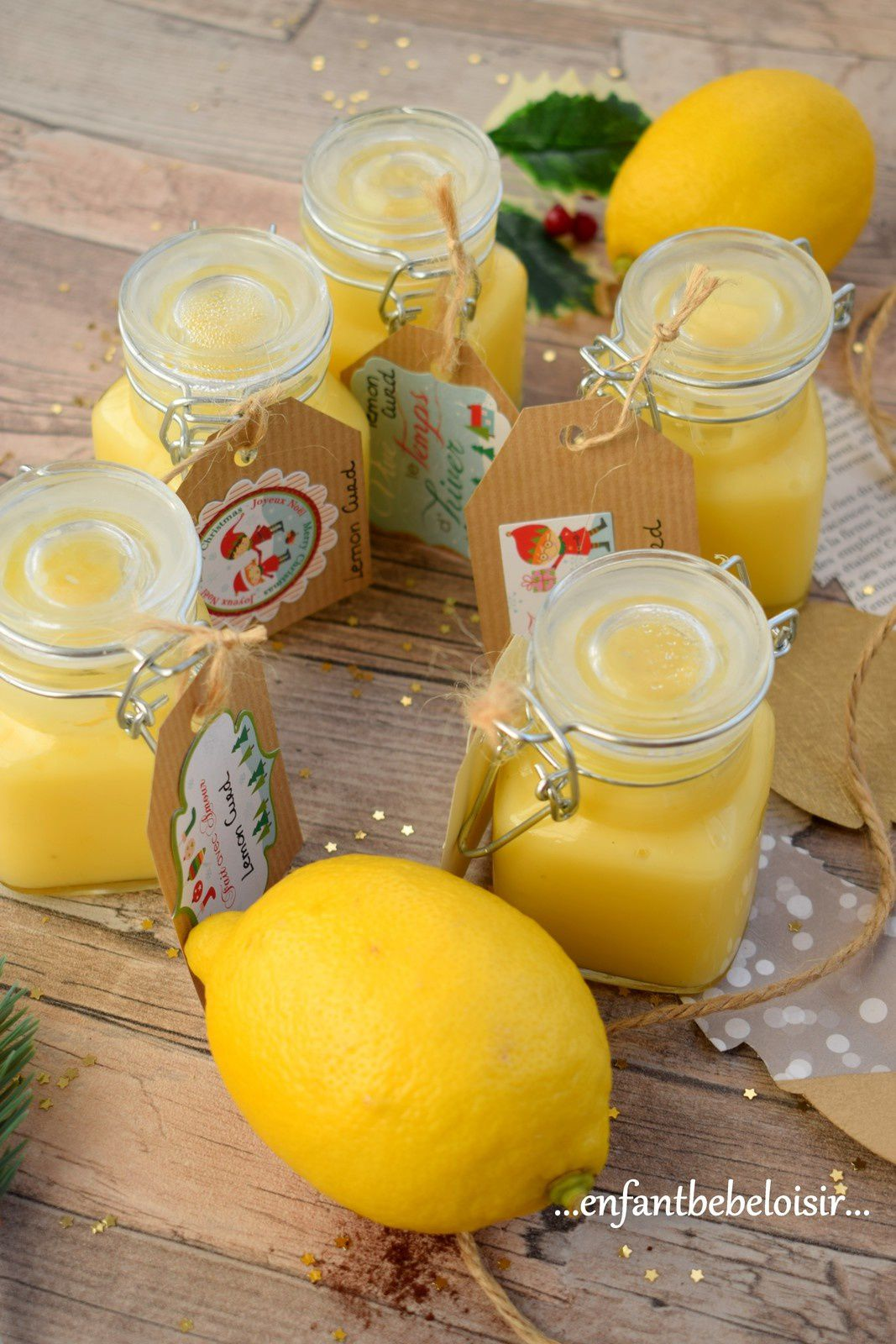 Paniers gourmands - Lemon Curd
