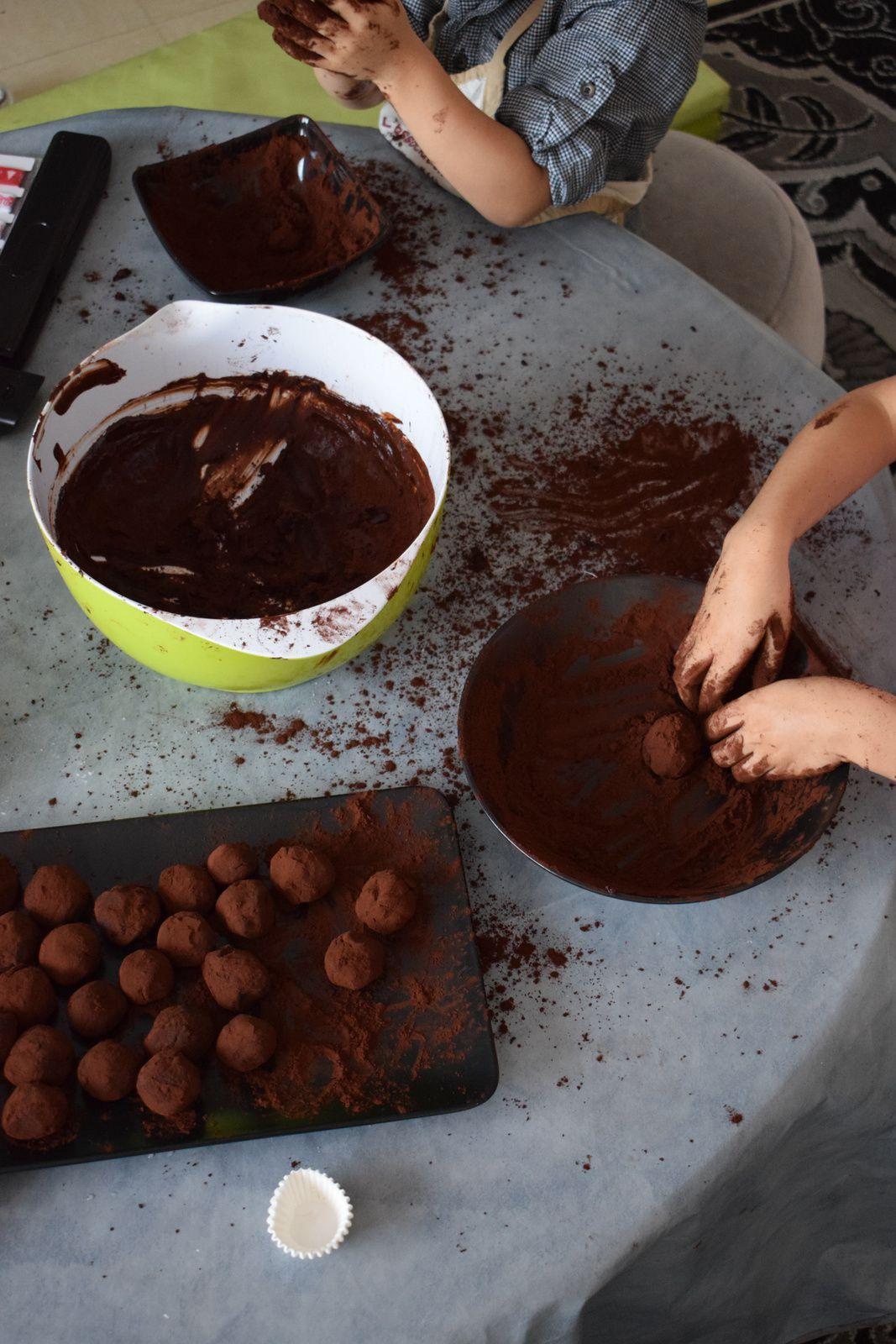 Paniers gourmands - Les truffes (sans alcool)