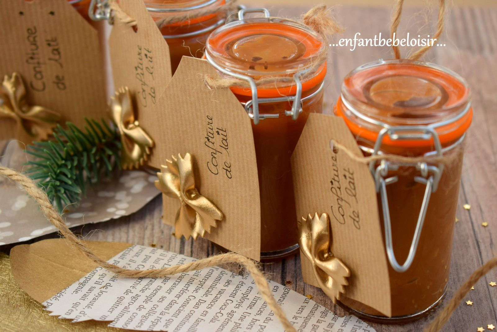 Paniers gourmands - Confiture de lait