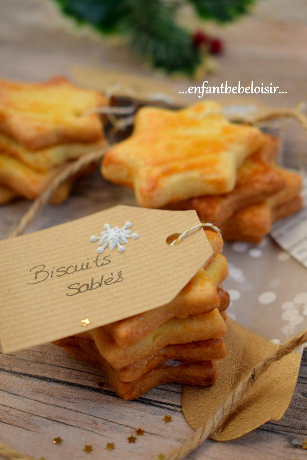 Paniers gourmands - Biscuits sablés