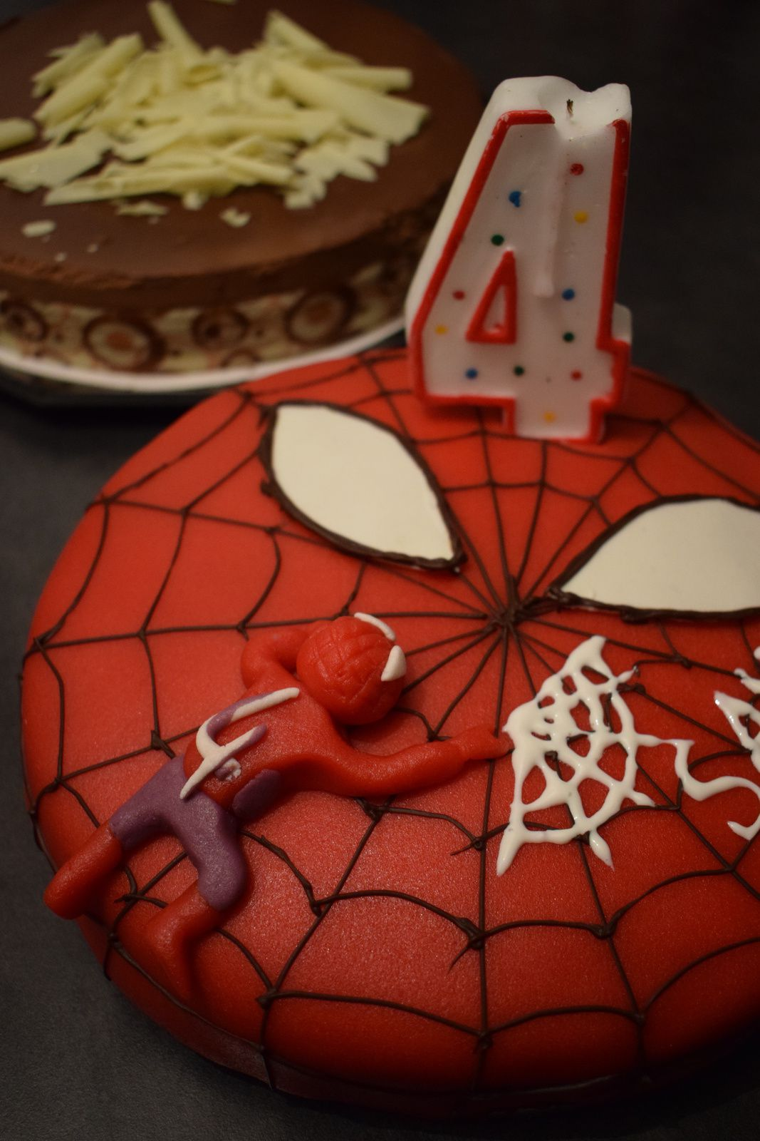 Gâteau Spiderman express !