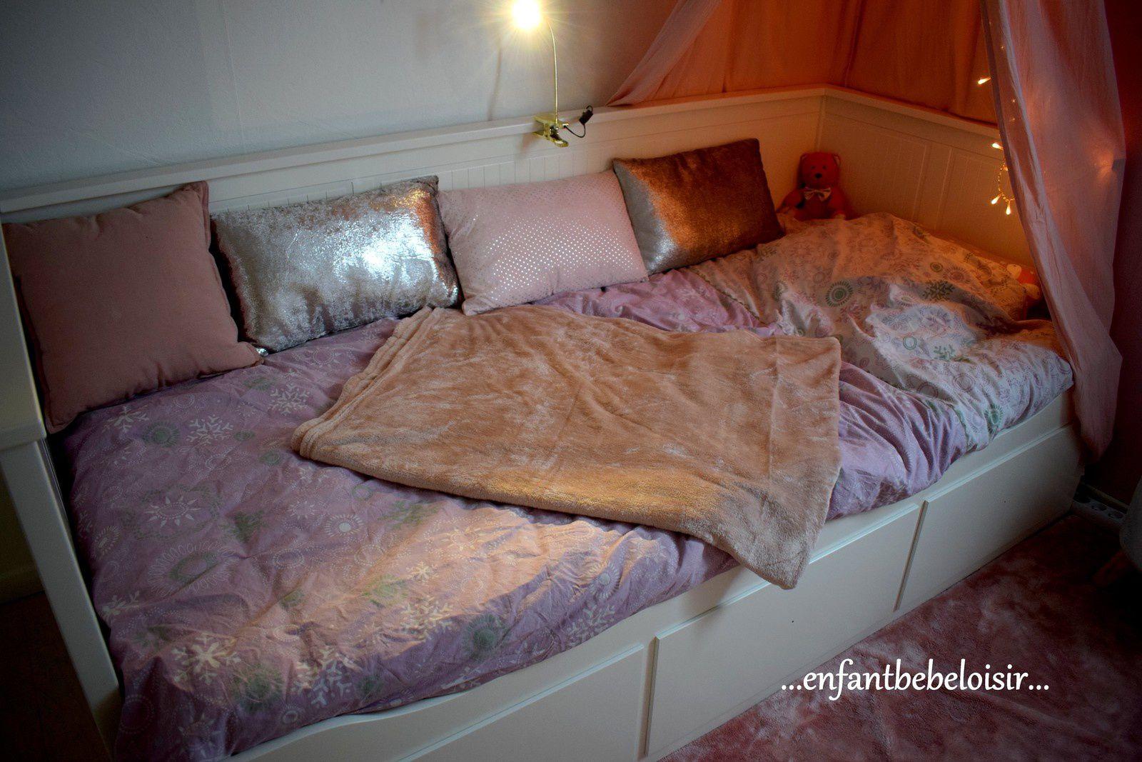La nouvelle chambre de petite fille de mon Inaya