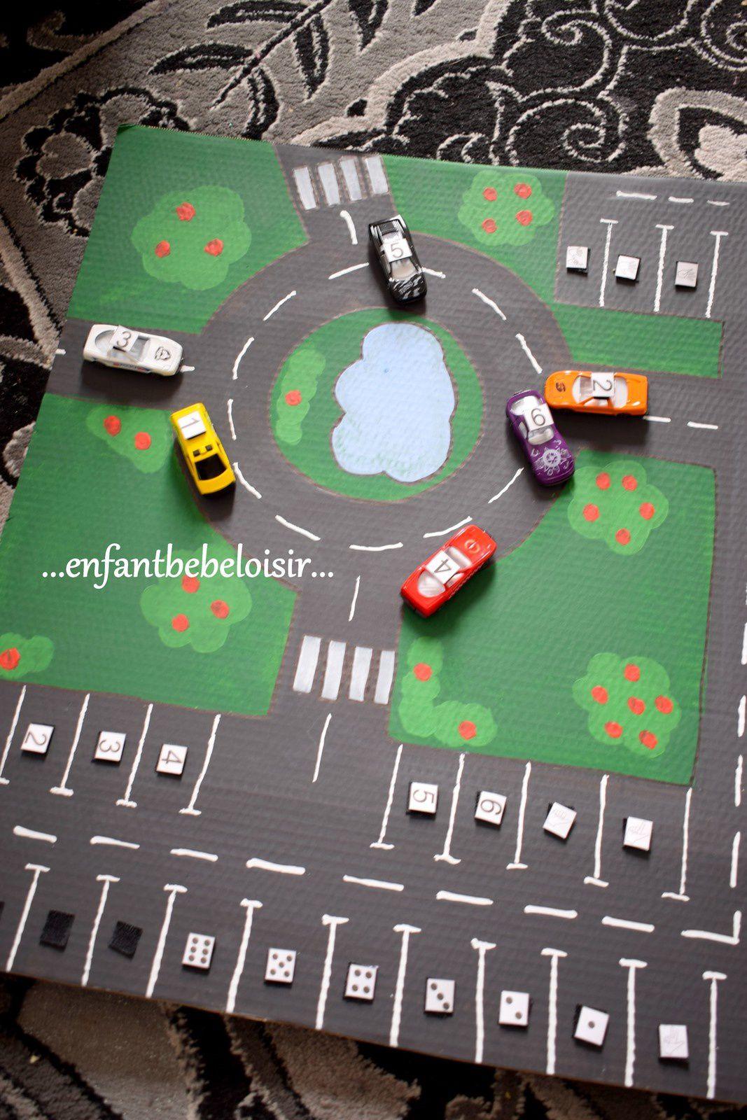 Apprendre à compter avec des petites voitures