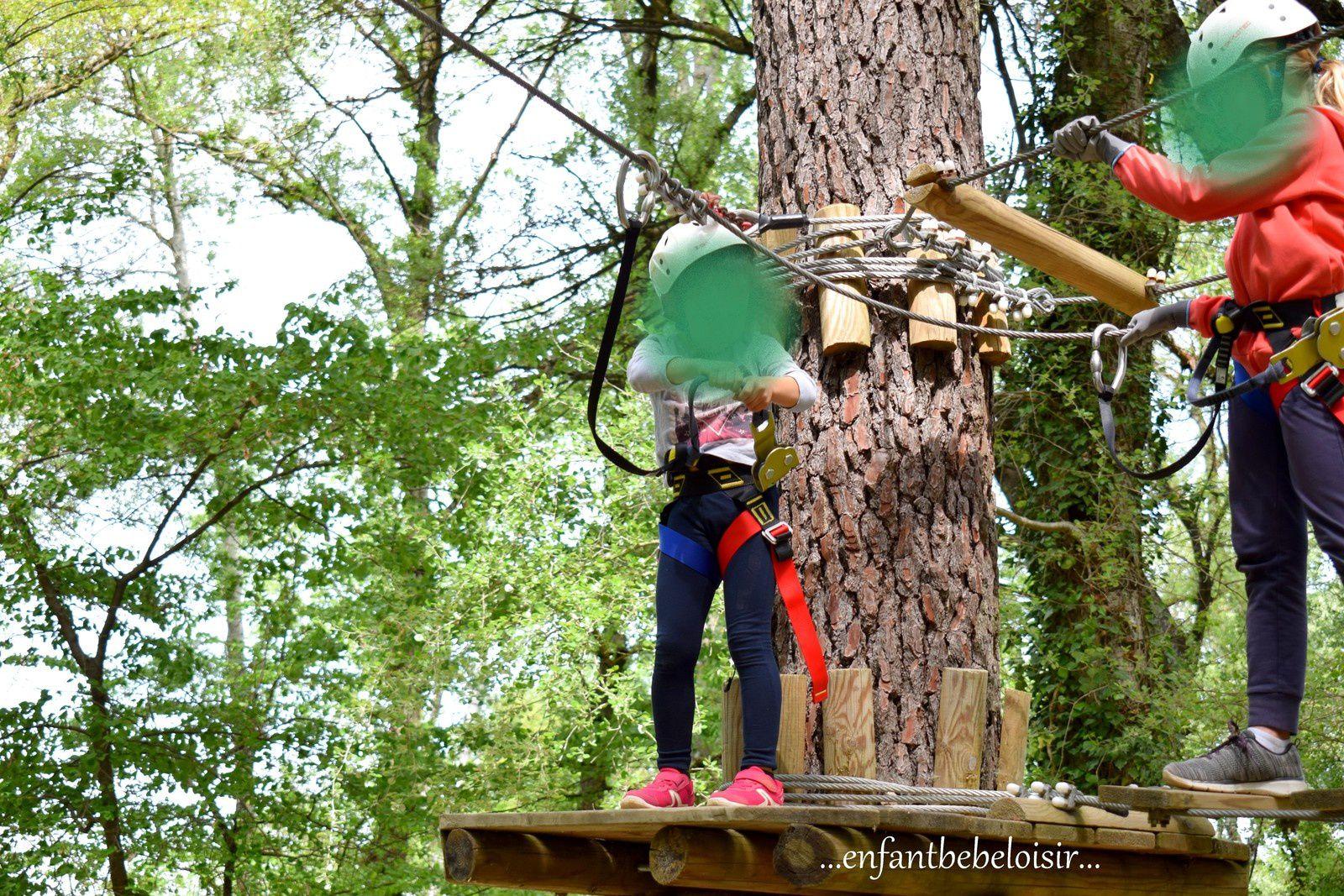 Ventoux Aventure - Mormoiron - Parcours enfants