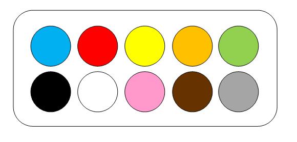 apprendre les couleurs pdf imprimer enfant b b loisir. Black Bedroom Furniture Sets. Home Design Ideas