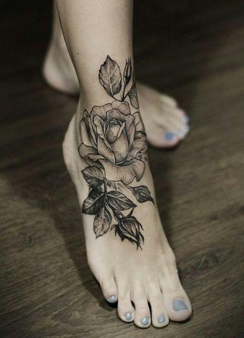 tatoo rose !!!