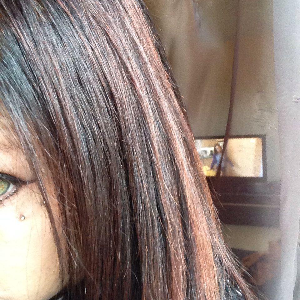Eclaircir une teinture de cheveux trop foncee
