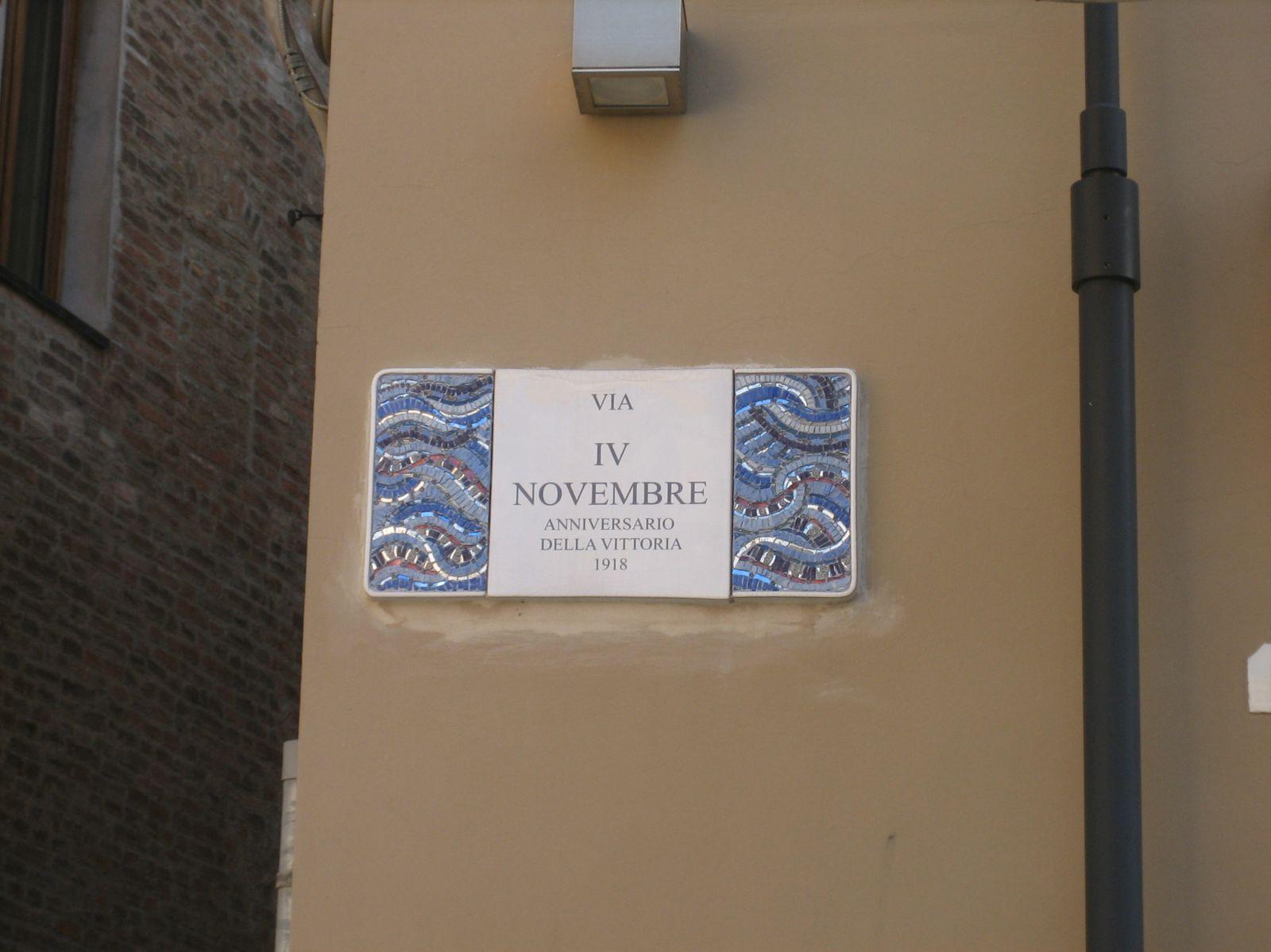 En marchant dans  Ravenne..