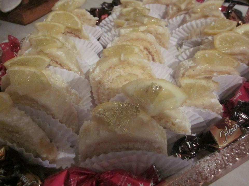 Biscuit roulé au citron