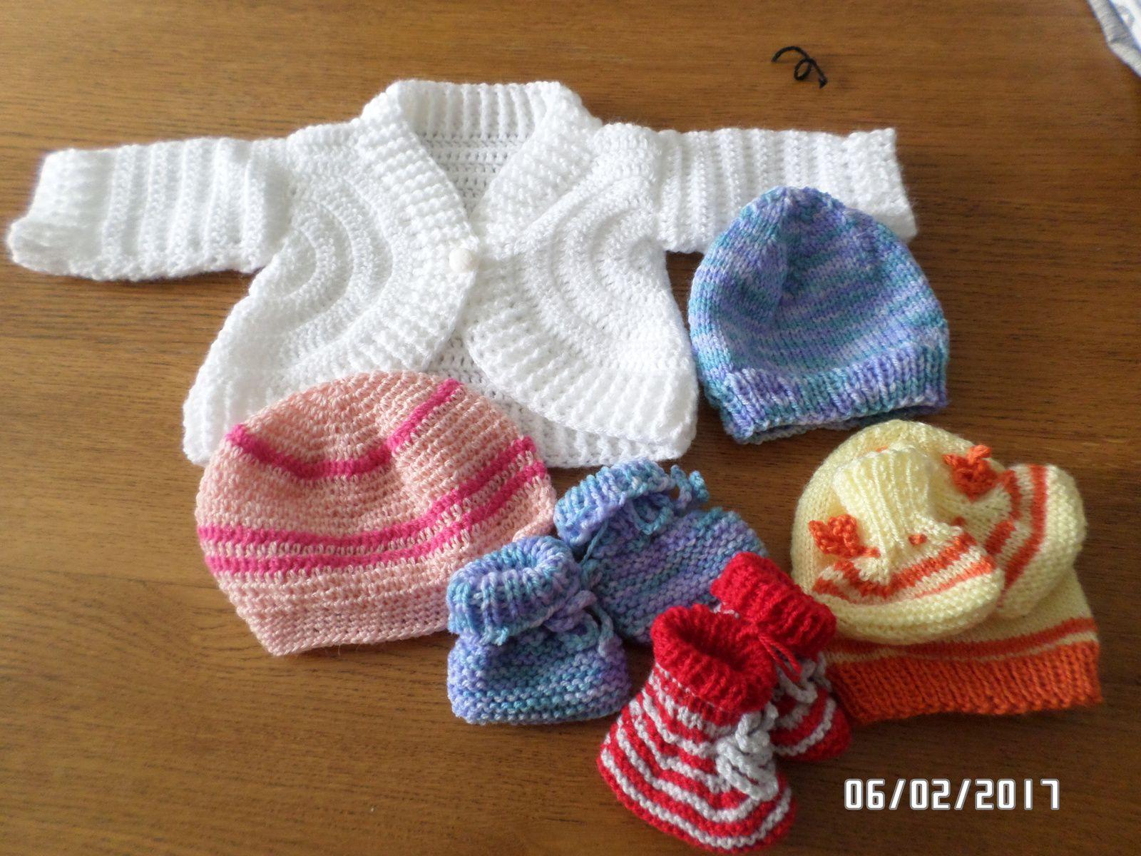 tricot pour bébés prémas  de MONTAUBAN
