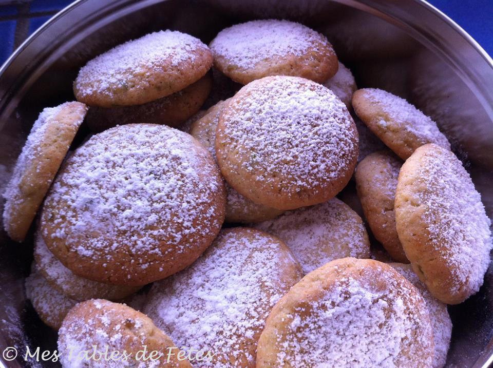 Biscuits sablés zeste séché de Combava