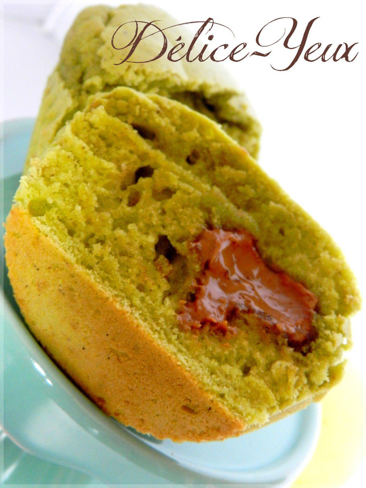 Muffins Pistache &amp&#x3B; Pralinoise