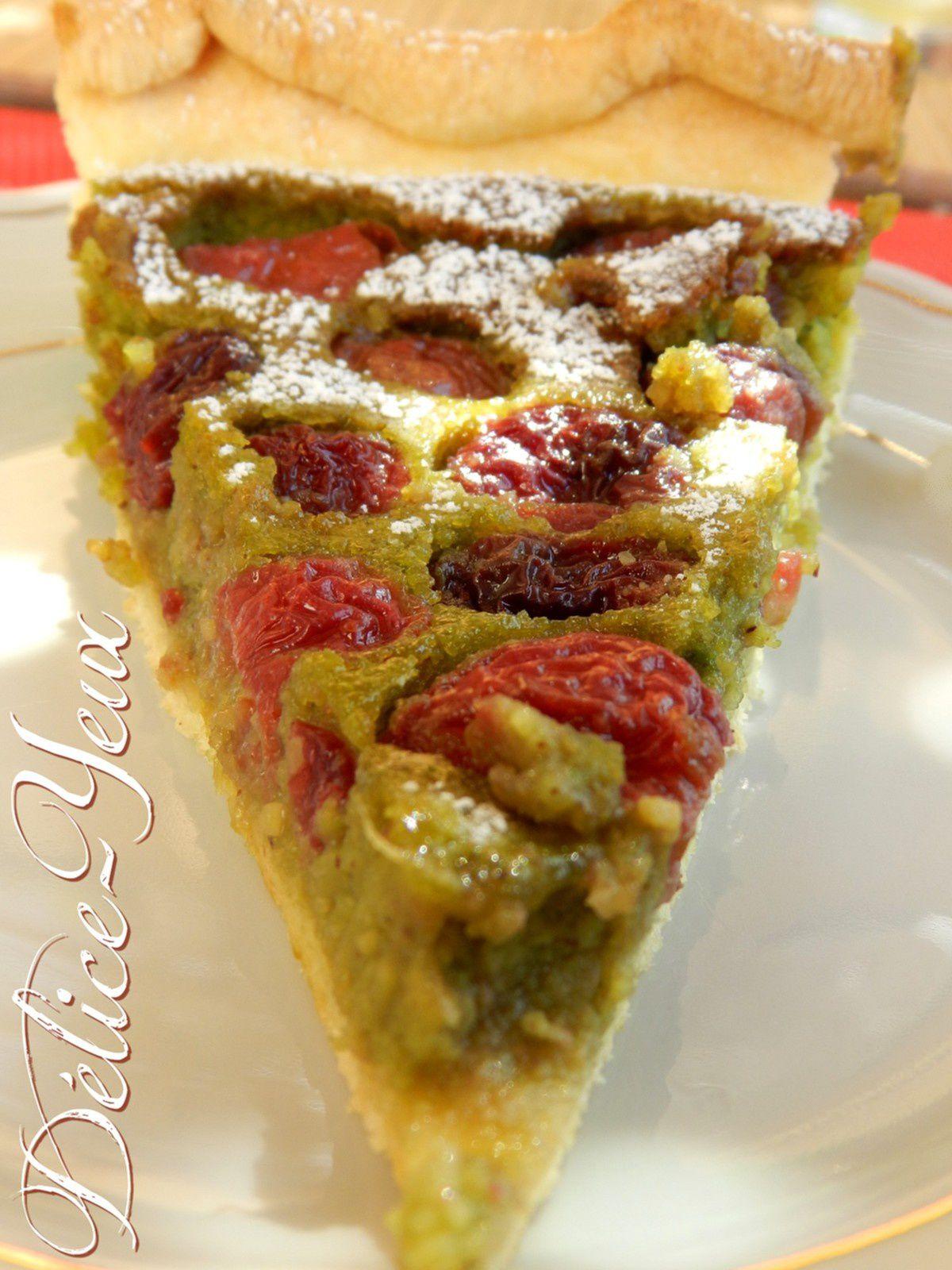 La tarte Cerises &amp&#x3B; Pistache