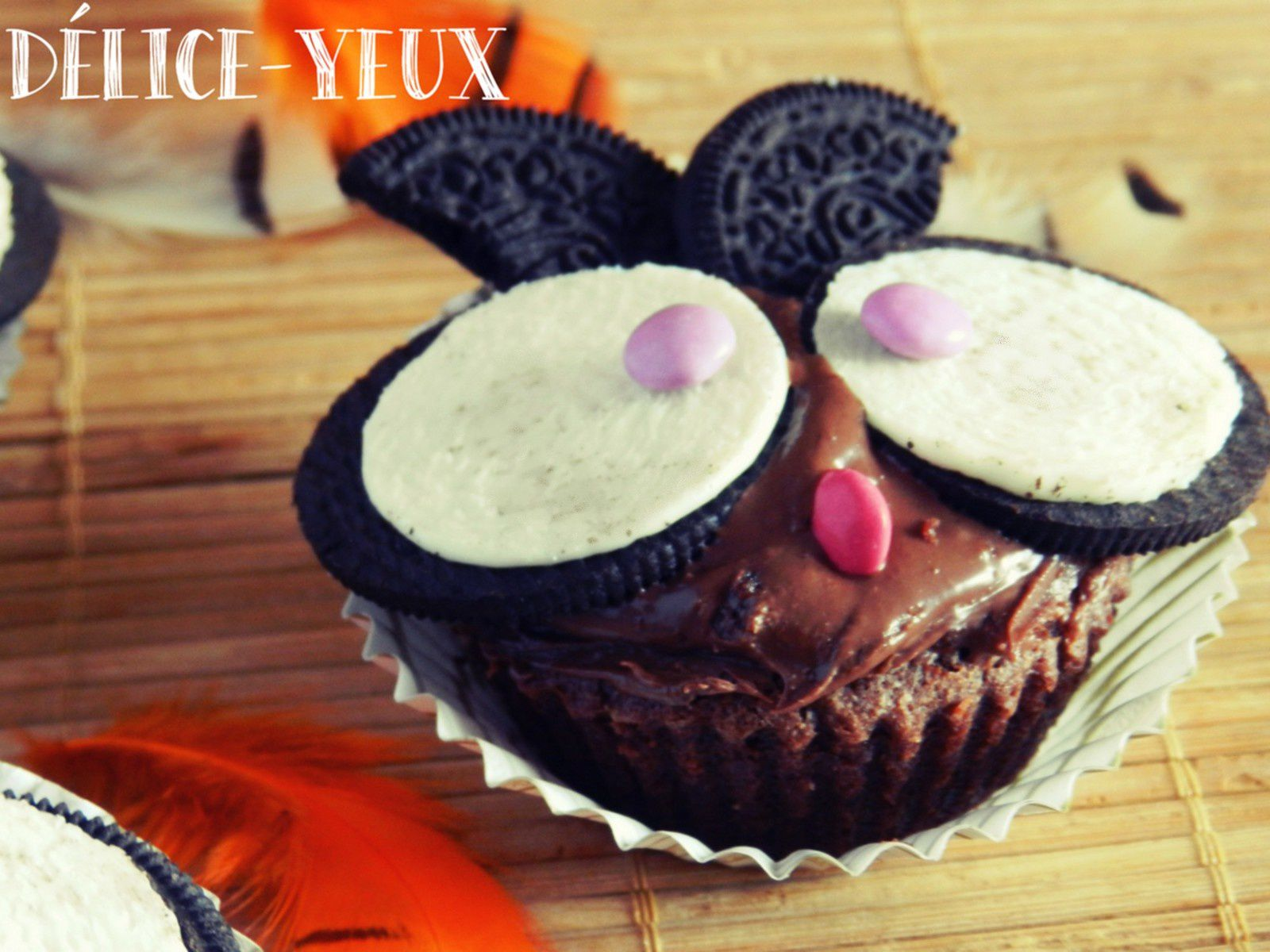 Cupcakes Chouettes/Hiboux {Halloween}