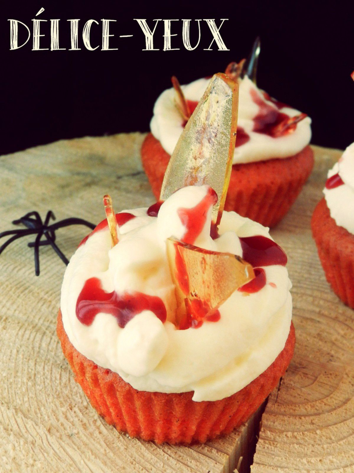 Les Dexter's Cupcakes {Halloween}