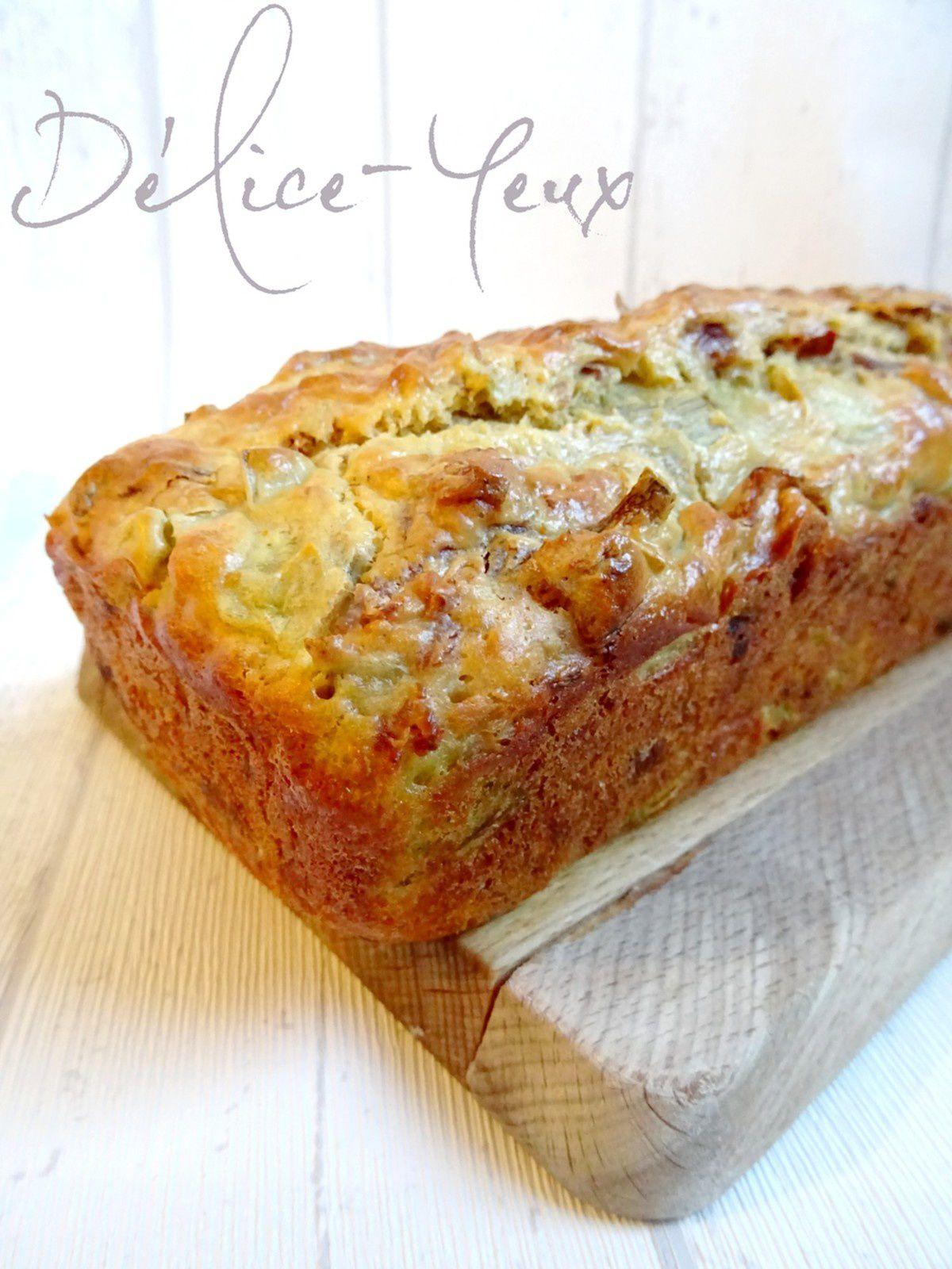 Cake Artichaut, Jambon ibérique &amp&#x3B; Tomates séchées {Base de cake légère}