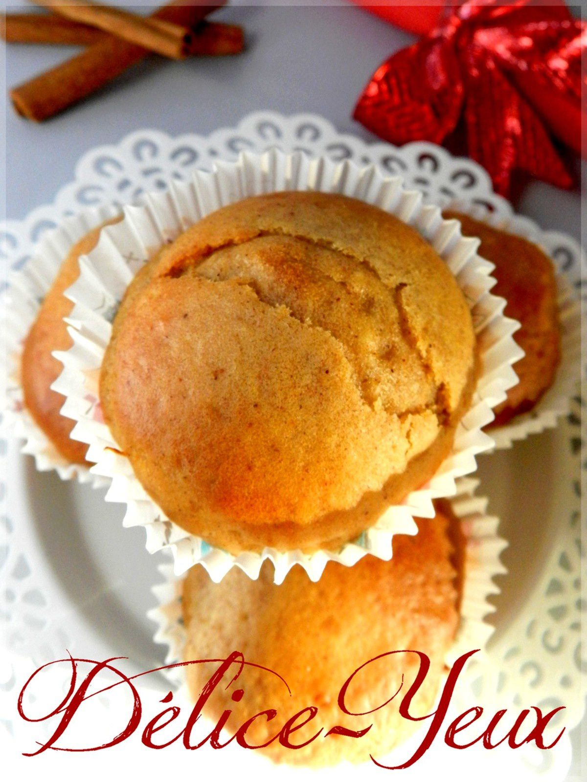 Muffins Miel & Cannelle