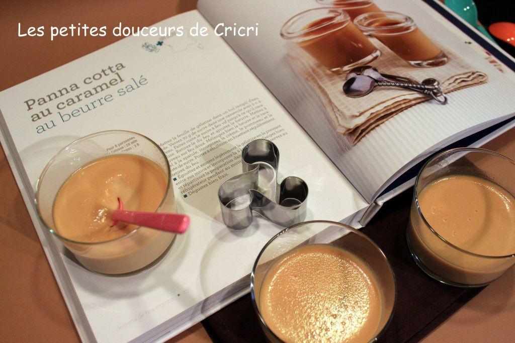 1 Livre 1 Recette - Panna Cotta au caramel au beurre salé