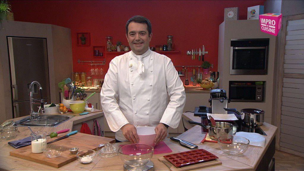 Impro en cuisine avec Jean François Piège sur Ma vie en couleurs #Concours Inside