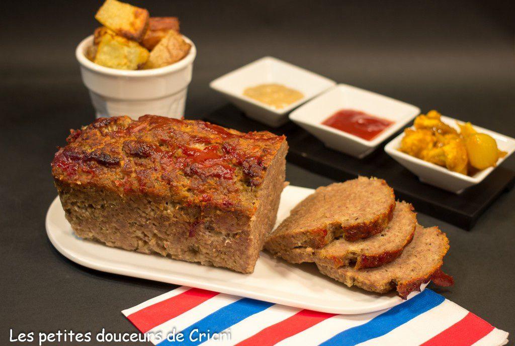 Meatloaf... Pain de viande à l'américaine