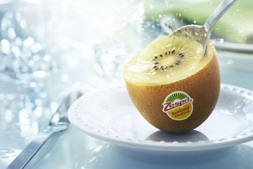 Smoothie aux fruits jaunes