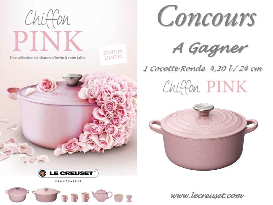Collection Chiffon Pink Le Creuset