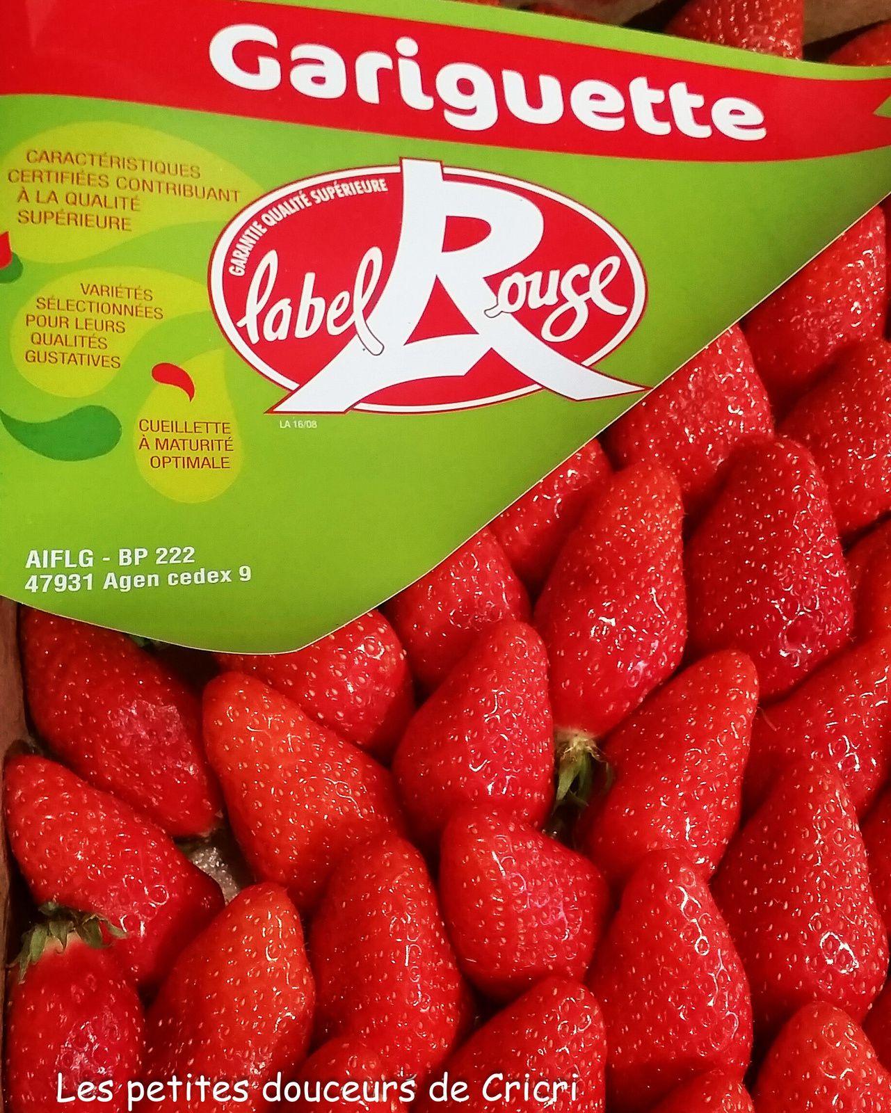 Tartare de thon aux fraises Label Rouge