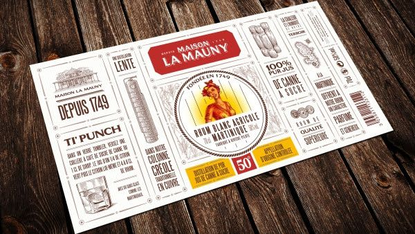 La Mauny Marmelade, cocktail à base de rhum