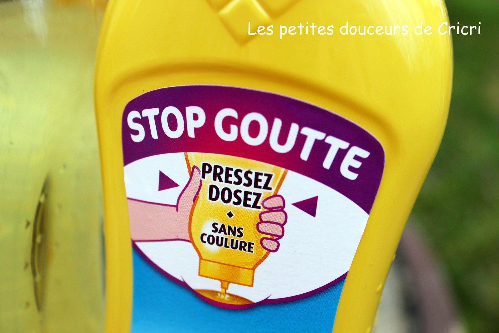 Duo huile et beurre Lesieur, son flacon Stop goutte