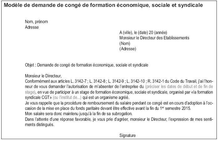 LE DROIT A LA FORMATION SYNDICALE ET LA LOI N°2014-288 DU 5 MARS 2014