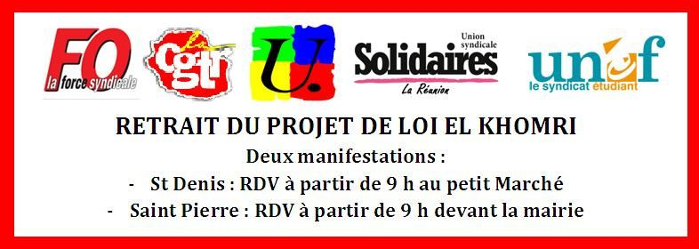 MOTION POUR LE RETRAIT DU PROJET DE LOI TRAVAIL - 31 Mars 2016