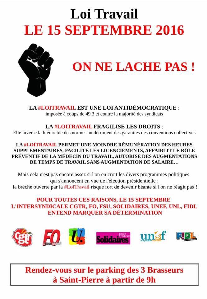 Grève du 15 septembre 2016