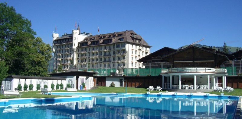 Gstaad Palace ***** (à Gstaad)