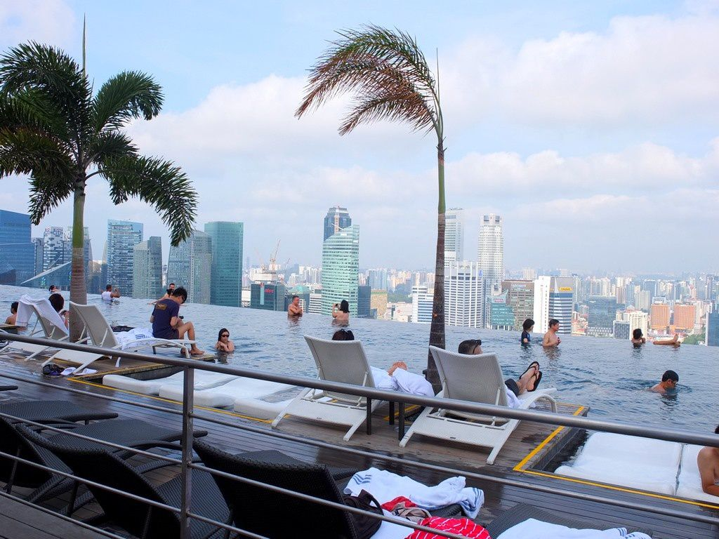 H tel marina bay sands singapour le blog de - Marina bay sands piscina ...