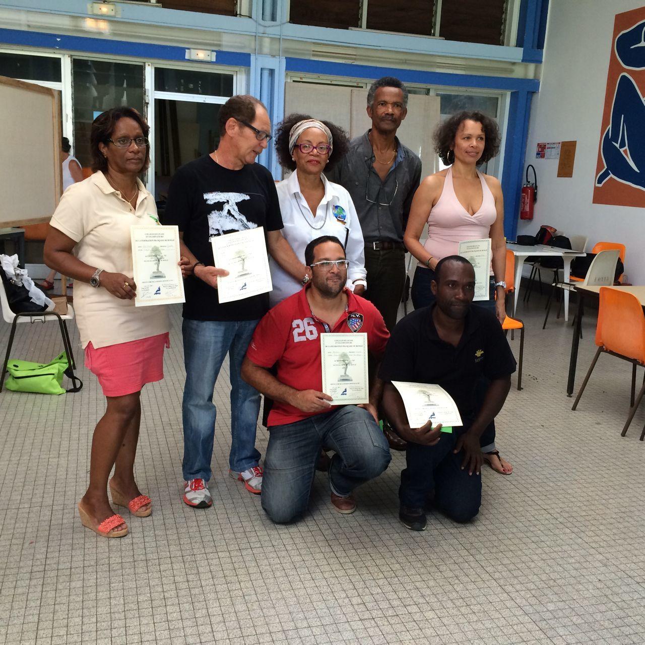 Passages de niveau de la FFB en Martinique