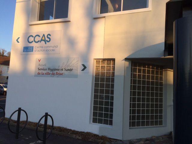 Nouveaux locaux pour le CCAS de Brive