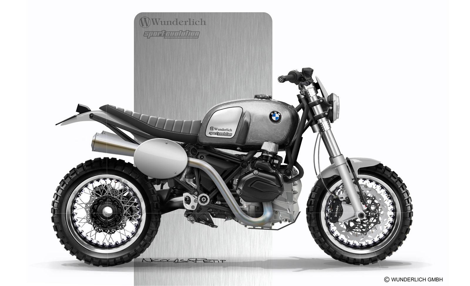 Wunderlich Scrambler video