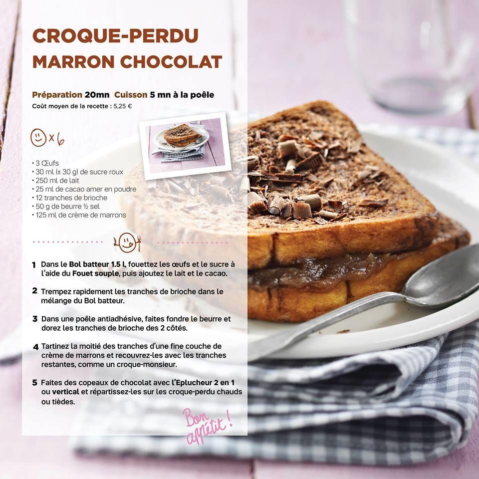 Croque-perdu marron chocolat