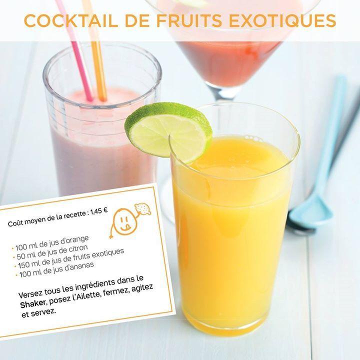 Cocktail de fruits exotiques