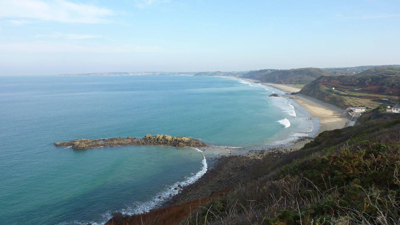 Le Haut Guen devant les plages des Vallées et Nantois