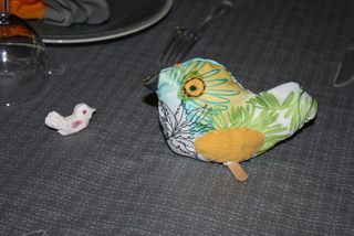 DECORATION DE TABLE &quot&#x3B;OISEAUX&quot&#x3B;