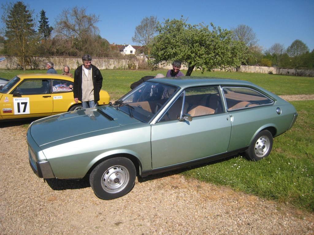 La Renault 15 de Laurent, entièrement d'origine et très belle ainsi.