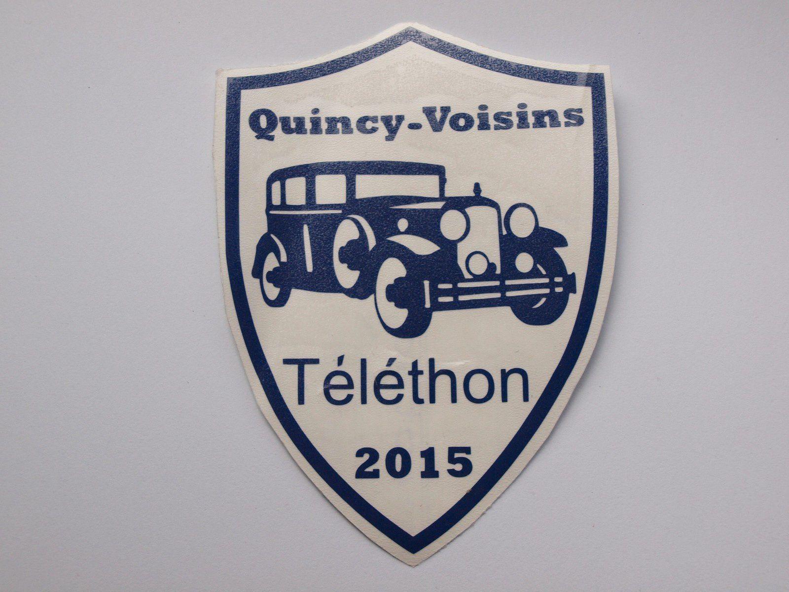 Journée Téléthon à Quincy Voisins