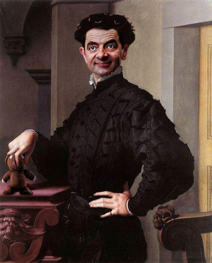 Mister Bean (pas le juge Roy, l'autre)